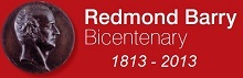 Redmond Barry Bicentenary Display