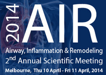 2nd Airway, Inflammation and Remodelling - AIR - Meeting 2014