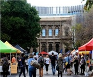 Farmers Market at the University of Melbourne
