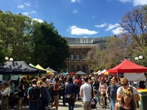 Farmers' Market at the University of Melbourne